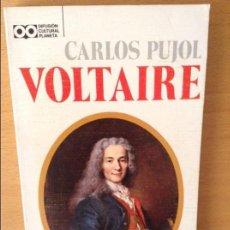 Libros de segunda mano: VOLTAIRE (CARLOS PUJOL). Lote 98198307