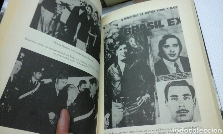Libros de segunda mano: Yo, Tommasso Buscetta, soy un mafioso.Enzo Biagi.1 edicion 1989 - Foto 3 - 98580415