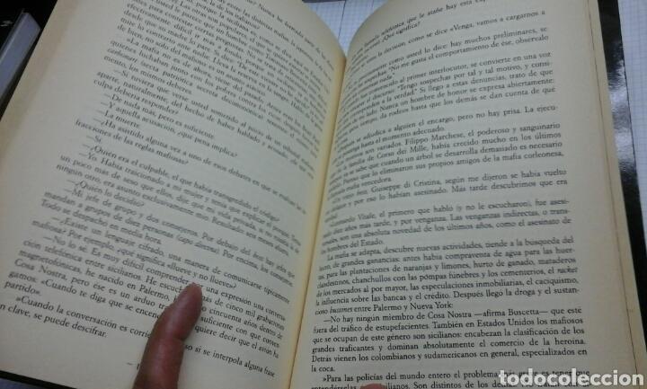 Libros de segunda mano: Yo, Tommasso Buscetta, soy un mafioso.Enzo Biagi.1 edicion 1989 - Foto 4 - 98580415