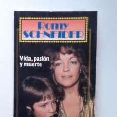 Libros de segunda mano: ROMY SCHNEIDER VIDA PASION Y MUERTE. Lote 99962067