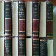 Libros de segunda mano: ASTURIANOS UNIVERSALES, 74 BIOGRAFÍAS EN 16 VOLUMENES. ED BERMA. PRECINTADOS.. Lote 100920227