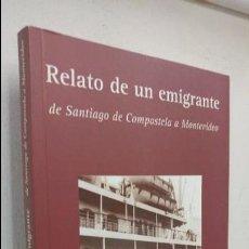 Livros em segunda mão: RELATO DE UN EMIGRANTE. Lote 101398515