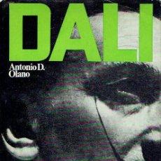 Libros de segunda mano: DALÍ SECRETO. ANTONIO D. OLANO.. Lote 101857503