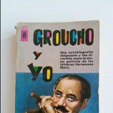 Libros de segunda mano: GROUCHO Y YO. GROUCHO MARX. PLAZA Y JANES EDITORES. 1961. Lote 102668451