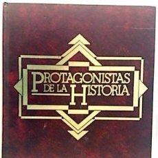 Libros de segunda mano: PROTAGONISTAS DE LA HISTORIA 4 TOMOS. EDITORIAL OLIMPO. Lote 102686595