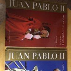Libros de segunda mano: LIBRO JUAN PABLO II, DOS VOLÚMENES. Lote 102986674