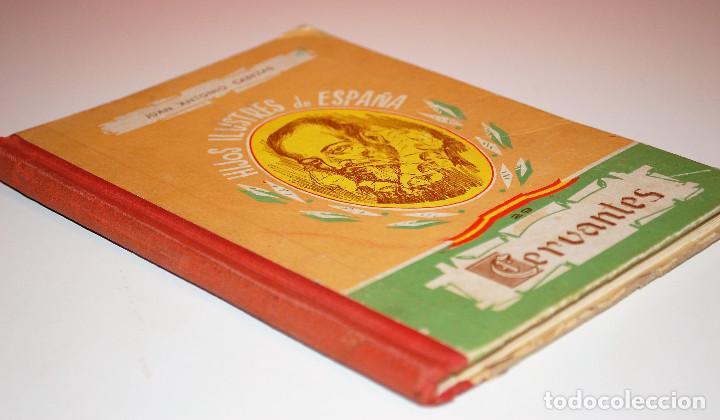Libros de segunda mano: LOS HIJOS ILUSTRES DE ESPAÑA: CERVANTES. J. A. CABEZAS. PRIMERA EDICIÓN. (1962) VER FOTOS - Foto 2 - 103581847