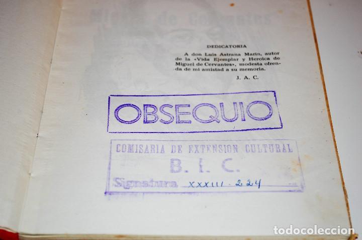 Libros de segunda mano: LOS HIJOS ILUSTRES DE ESPAÑA: CERVANTES. J. A. CABEZAS. PRIMERA EDICIÓN. (1962) VER FOTOS - Foto 3 - 103581847