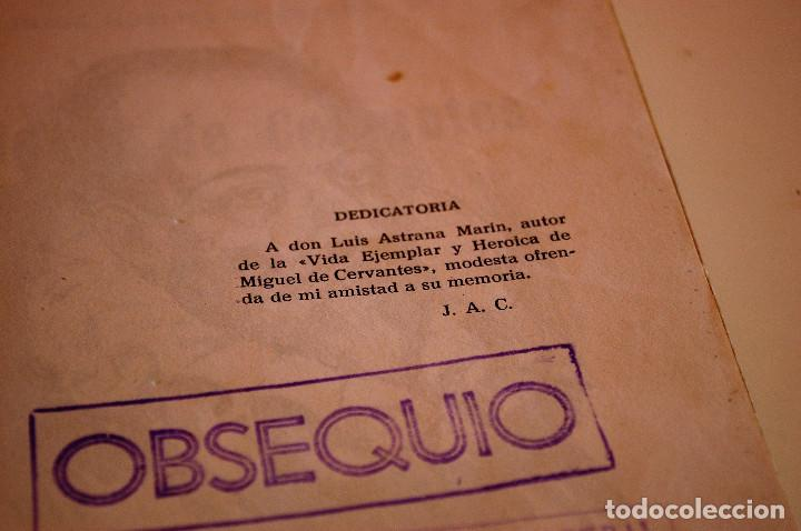 Libros de segunda mano: LOS HIJOS ILUSTRES DE ESPAÑA: CERVANTES. J. A. CABEZAS. PRIMERA EDICIÓN. (1962) VER FOTOS - Foto 4 - 103581847