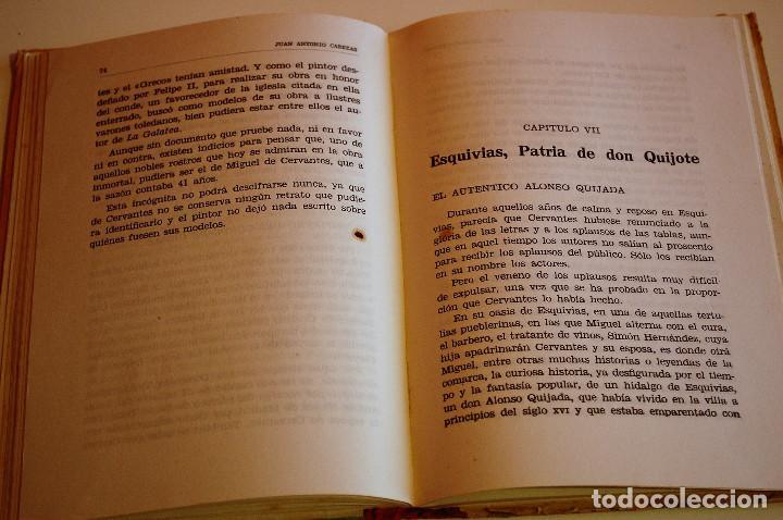 Libros de segunda mano: LOS HIJOS ILUSTRES DE ESPAÑA: CERVANTES. J. A. CABEZAS. PRIMERA EDICIÓN. (1962) VER FOTOS - Foto 7 - 103581847