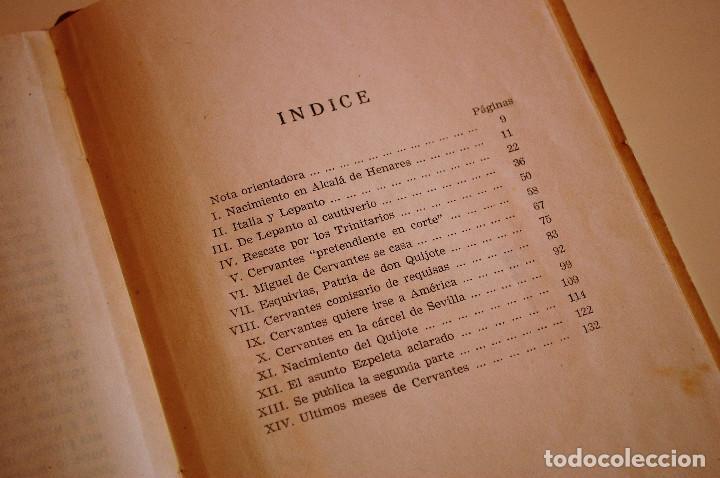 Libros de segunda mano: LOS HIJOS ILUSTRES DE ESPAÑA: CERVANTES. J. A. CABEZAS. PRIMERA EDICIÓN. (1962) VER FOTOS - Foto 8 - 103581847