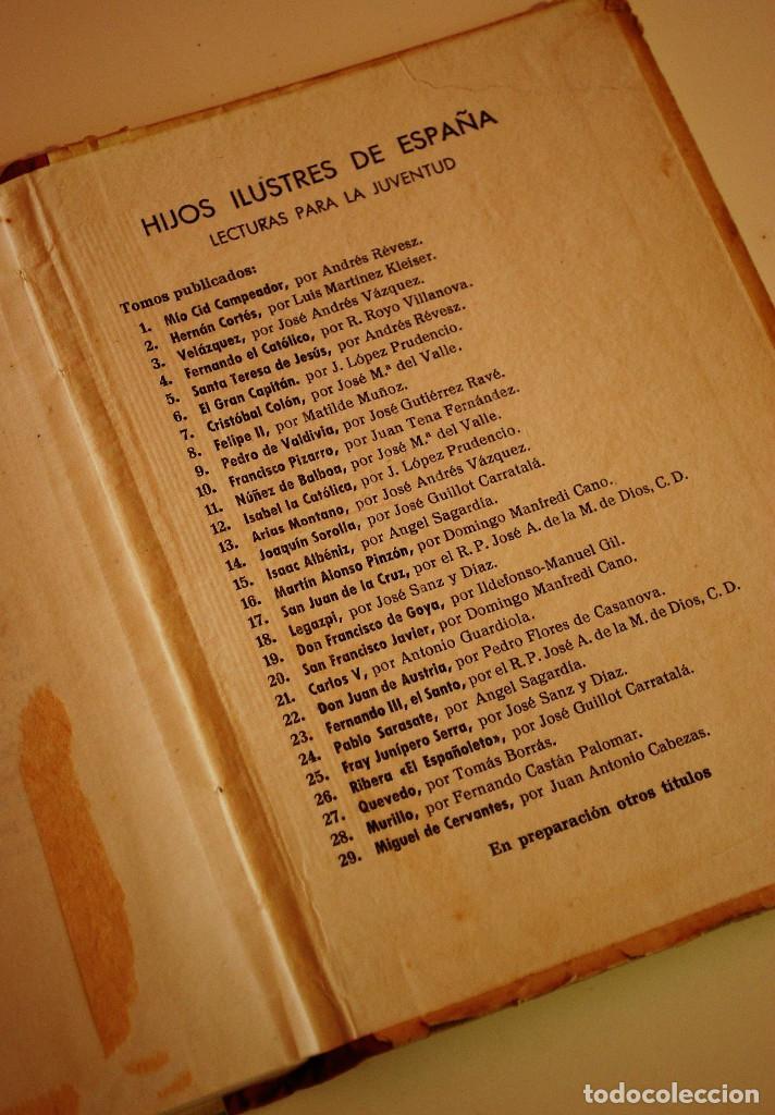 Libros de segunda mano: LOS HIJOS ILUSTRES DE ESPAÑA: CERVANTES. J. A. CABEZAS. PRIMERA EDICIÓN. (1962) VER FOTOS - Foto 9 - 103581847