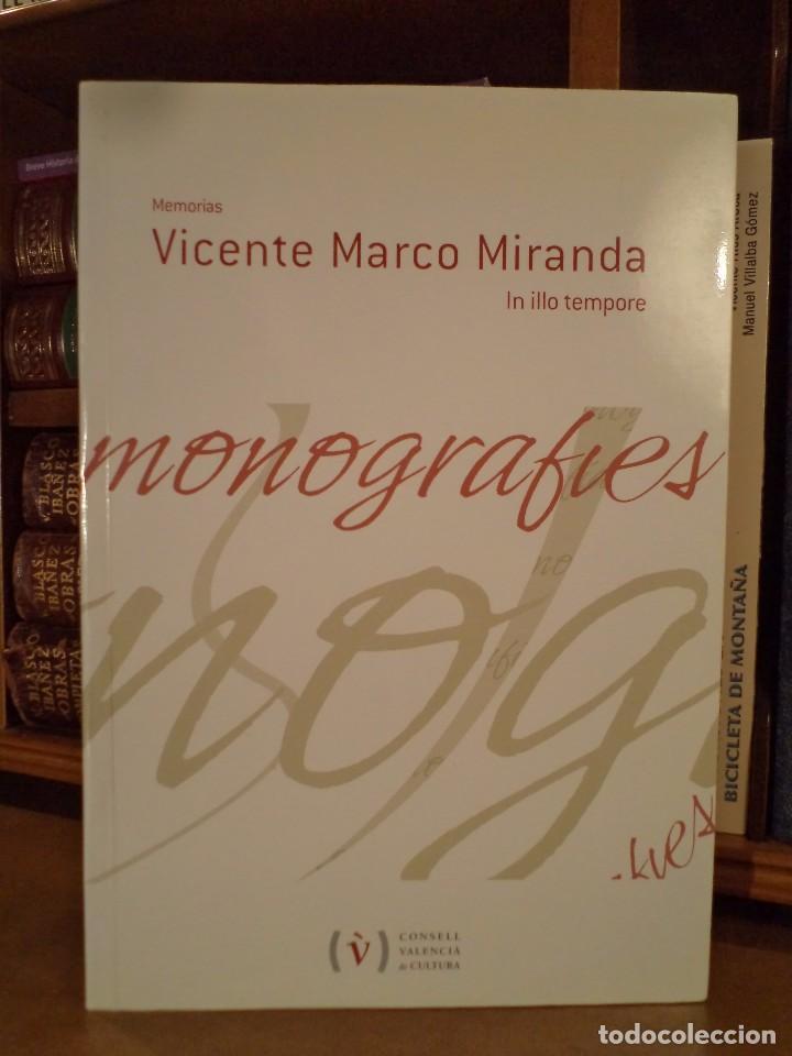 monografies 40. memorias. vicente marco miranda - Comprar Libros de ...