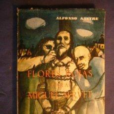 Libros de segunda mano: ALFONSO SASTRE: . FLORES ROJAS PARA MIGUEL SERVET - (MADRID, 1967) (PRIMERA EDICION). Lote 103844943