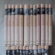 Libros de segunda mano: COLECCIÓN PROTAGONISTAS DE LA HISTORIA (ABC 2004) COMPLETA. 25 VOLS.. Lote 104419367