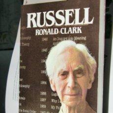 Libri di seconda mano: BIBLIOTECA SALVAT DE GRANDES BIOGRAFIAS. Nº 22. RUSSELL. POR RONALD CLARK. 1988. Lote 210950132