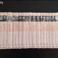 Libros de segunda mano: COLECCIÓN PROTAGONISTAS DE LA HISTORIA. BIBLIOTECA ABC 2004. COLECCIÓN COMPLETA. 25 VOLÚMENES.. Lote 105168299