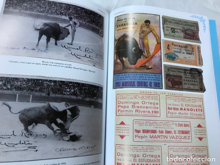 Libros de segunda mano: villa del rio (CÓRDOBA) con manolete, 1917-1947-2017, paco laguna, magnifico libro centenario, M. IL - Foto 11 - 105377859
