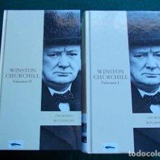 Libros de segunda mano: WINSTON CHURCHILL 2 TOMOS. Lote 105429255