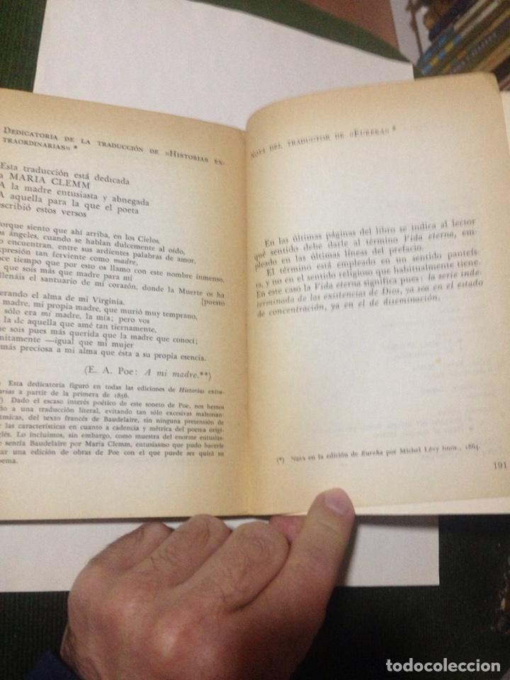Libros de segunda mano: Edgar Allan Poe. Charles Baudelaire (Trad. y pról. Emili Olcina). - Foto 7 - 180433673