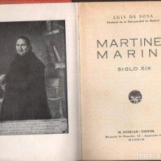 Libros de segunda mano: LUIS DE SOSA : MARTÍNEZ MARINA (M. AGUILAR, S.F.). Lote 106560799