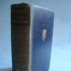 Libros de segunda mano: ANDRÉ MAUROIS - OBRAS COMPLETAS. BIOGRAFÍAS II: VICTOR HUGO. GEORGES SAND. ALEXANDER FLEMING (1960). Lote 109530931