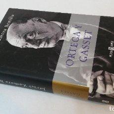 Libros de segunda mano: 2002 - JAVIER ZAMORA BONILLA - ORTEGA Y GASSET. Lote 109882991