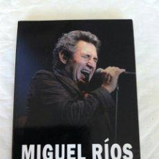Libros de segunda mano: MIGUEL RIOS. 50 AÑOS DE ROCK Y CARRETERA. JESÚS SÁNCHEZ. TAPA BLANDA CON SOLAPAS. QUARENTENA EDICION. Lote 110610406