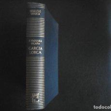Libros de segunda mano: GARCIA LORCA VIDA, CANTICO Y MUERTE. FERNANDO VAZQUEZ OCAÑA. Lote 111092459