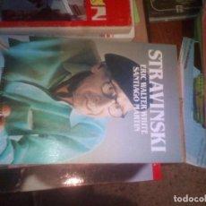 Second hand books - BIBLIOTECA SALVAT DE GRANDES BIOGRAFÍAS Nº 86 STRAVINSKI. ERIC WALTER WHITE. SANTIAGO MARTIN - 111212771