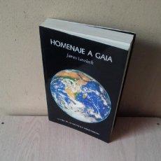 Libros de segunda mano: JAMES LOVELOCK - HOMENAJE A GAIA, LA VIDA DE UN CIENTIFICO INDEPENDIENTE - 2005. Lote 111336371