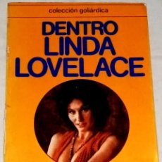 Libros de segunda mano: DENTRO LINDA LOVELACE - CUPSA EDITORIAL 1977. Lote 111966931