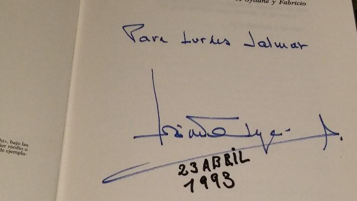 Libros de segunda mano: EL REY POR JOSÉ LUIS DE VILALLONGA - CON DEDICATORIA Y AUTÓGRAFO DEL AUTOR - - Foto 2 - 112215103