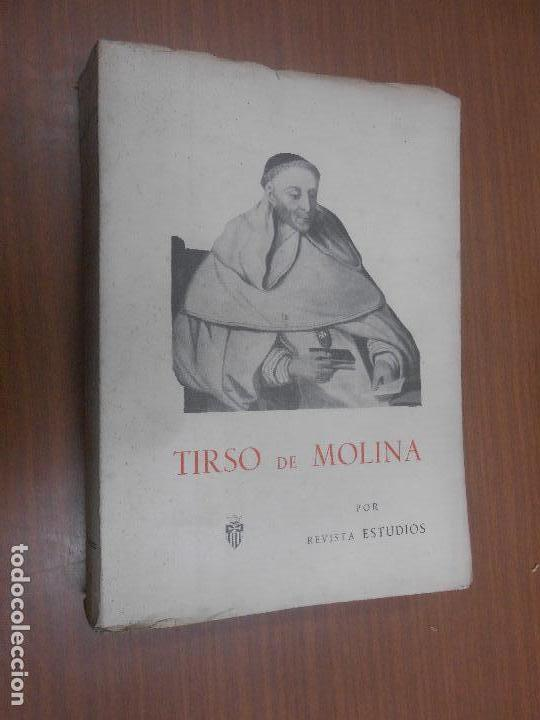 REVISTA ESTUDIOS TIRSO DE MOLINA ENSAYOS SOBRE LA BIOGRAFIA DE FRAY GABRIEL TELLEZ MADRID 1949 (Libros de Segunda Mano - Biografías)