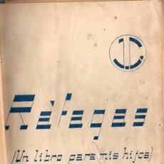 Libros de segunda mano: PEPITA CABALLERO BALSEIRO : RÁFAGAS (1942) MEMORIAS DE ARECIBO (PUERTO RICO) Y BARCELONA. Lote 112892095