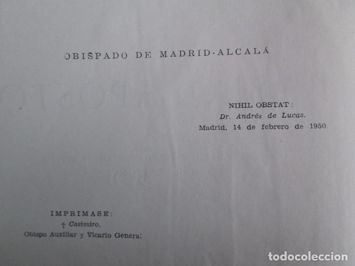 Libros de segunda mano: PABLO APOSTOL. GIUSEPPE RICCIOTTI. EDITORIAL CONMAR 1950. VER FOTOGRAFIAS ADJUNTAS - Foto 10 - 113010259