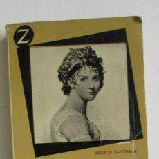 Libros de segunda mano: LA EMPERATRIZ JOSEFINA Y MADAME RECAMIER. JUAN CABAL. EDITORIAL JUVENTUD. EDICIÓN ILUSTRADA. 1959. Lote 113258459