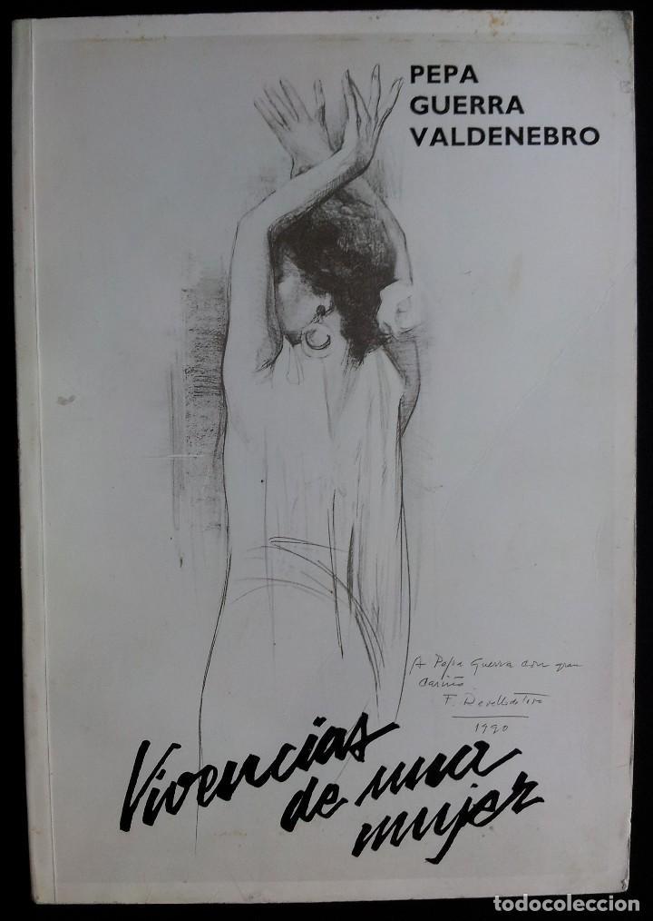 Libros de segunda mano: PEPA GUERRA VALDENEBRO - VIVENCIAS DE UNA MUJER,LA DANZA ES GIMNASIA,ASÍ CANTA Y BAILA ANDALUCIA - Foto 7 - 113447035