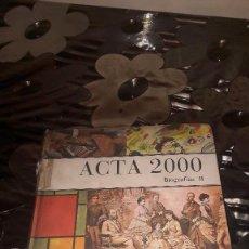 Libros de segunda mano: ACTA 2000 - BIOGRAFIAS II. Lote 114075507