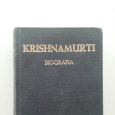 Livres d'occasion: KRISHNAMURTI. BIOGRAFIA - PUPUL JAYAKAR.. Lote 114182563