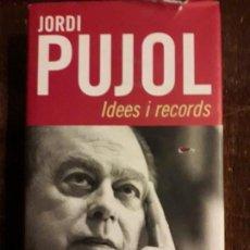 Libros de segunda mano: LIBRO JORDI PUJOL. Lote 114518339