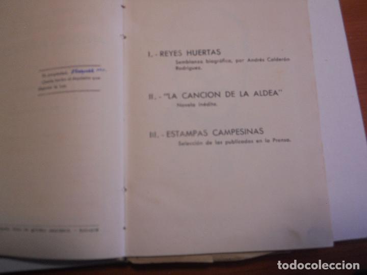 ANTONIO REYES HUERTAS EDICION HOMENAJE - 1952 PASTA DURA CON GRABADO CON TROQUEL (Libros de Segunda Mano - Biografías)