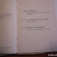 Libros de segunda mano: ANTONIO REYES HUERTAS EDICION HOMENAJE - 1952 PASTA DURA CON GRABADO CON TROQUEL. Lote 116288703
