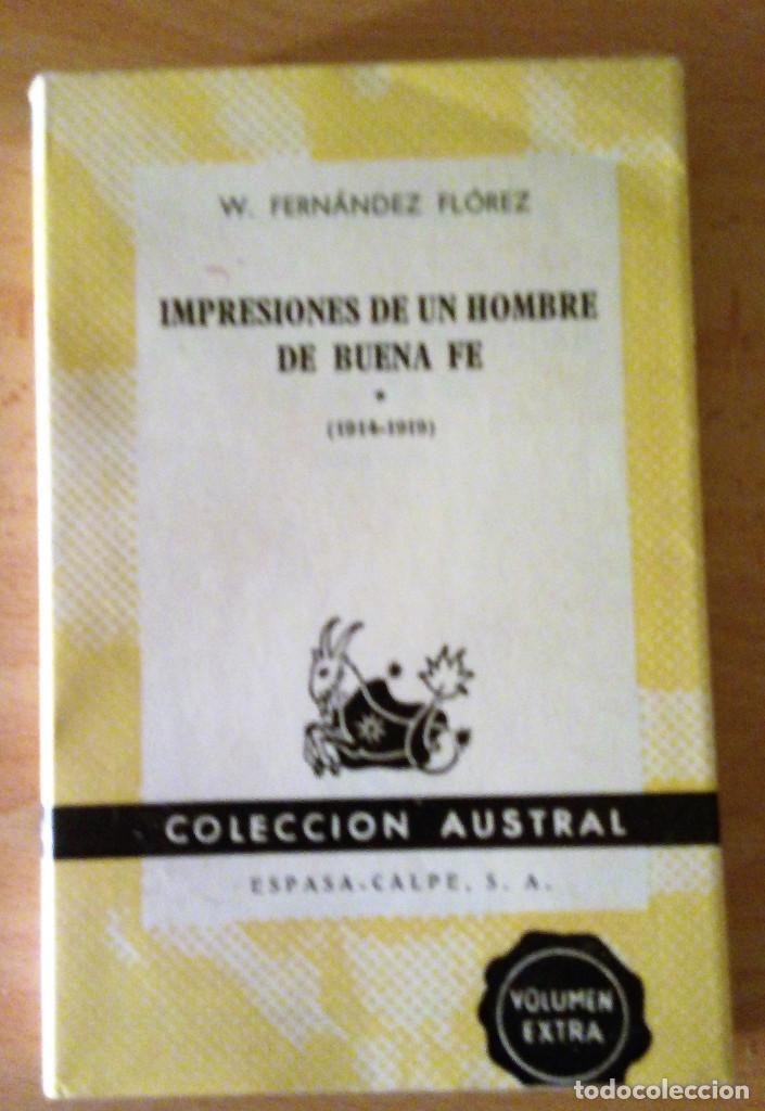 impresiones de un hombre de buena fe (1920 - 19 - Comprar Libros de ...