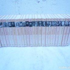 Libros de segunda mano: BIBLIOTECA ABC PROTAGONISTAS DE LA HISTORIA. COMPLETA 25 VOLÚMENES. NUEVOS. Lote 116597639