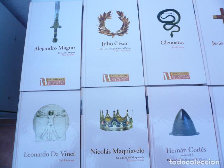 Libros de segunda mano: BIBLIOTECA ABC PROTAGONISTAS DE LA HISTORIA. COMPLETA 25 VOLÚMENES. NUEVOS - Foto 2 - 116597639