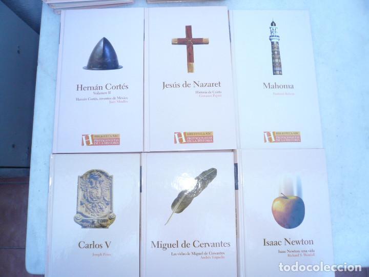 Libros de segunda mano: BIBLIOTECA ABC PROTAGONISTAS DE LA HISTORIA. COMPLETA 25 VOLÚMENES. NUEVOS - Foto 3 - 116597639