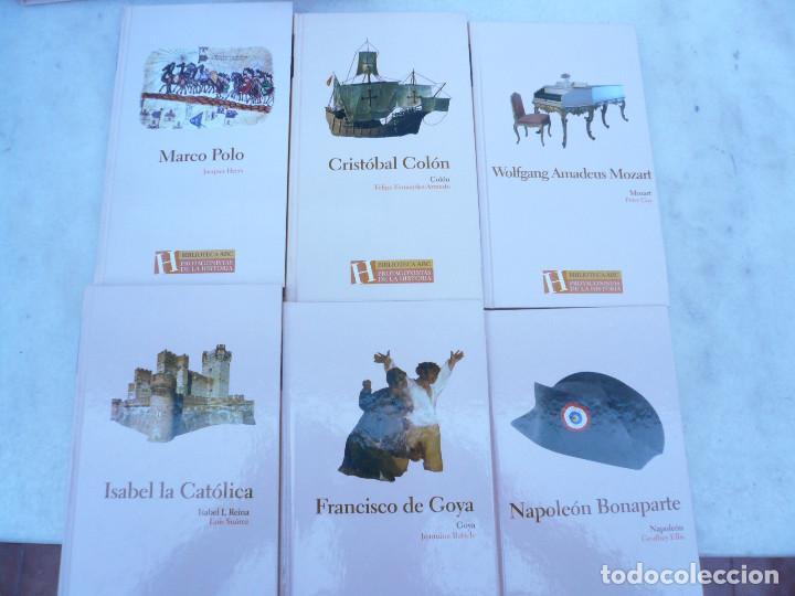 Libros de segunda mano: BIBLIOTECA ABC PROTAGONISTAS DE LA HISTORIA. COMPLETA 25 VOLÚMENES. NUEVOS - Foto 4 - 116597639