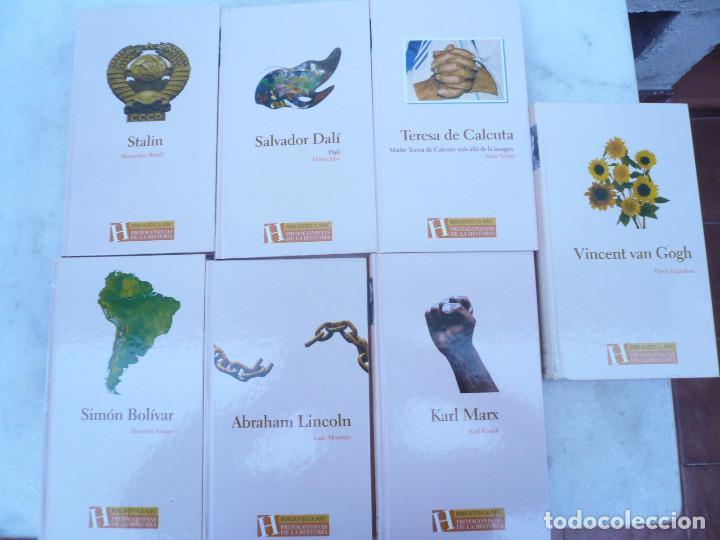 Libros de segunda mano: BIBLIOTECA ABC PROTAGONISTAS DE LA HISTORIA. COMPLETA 25 VOLÚMENES. NUEVOS - Foto 5 - 116597639
