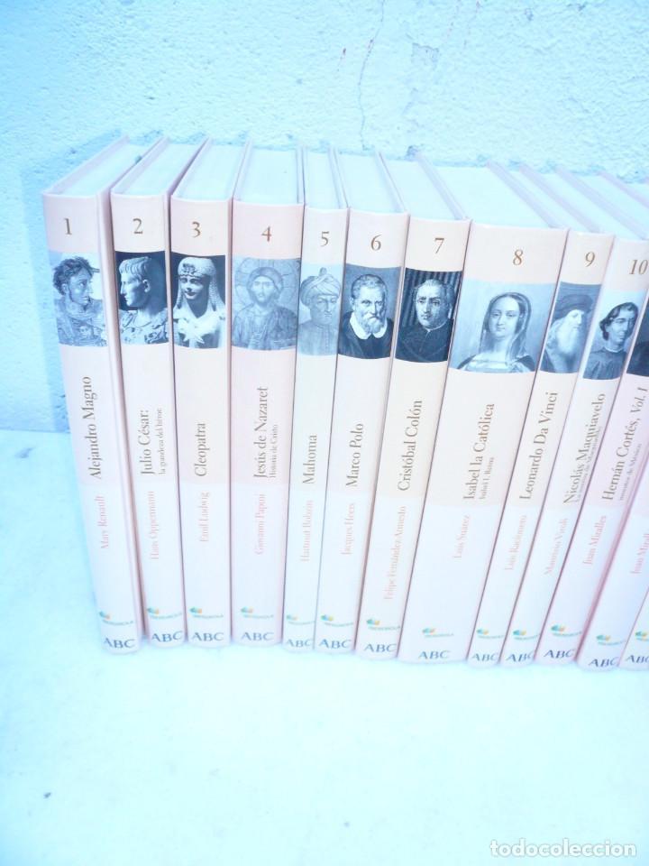 Libros de segunda mano: BIBLIOTECA ABC PROTAGONISTAS DE LA HISTORIA. COMPLETA 25 VOLÚMENES. NUEVOS - Foto 6 - 116597639